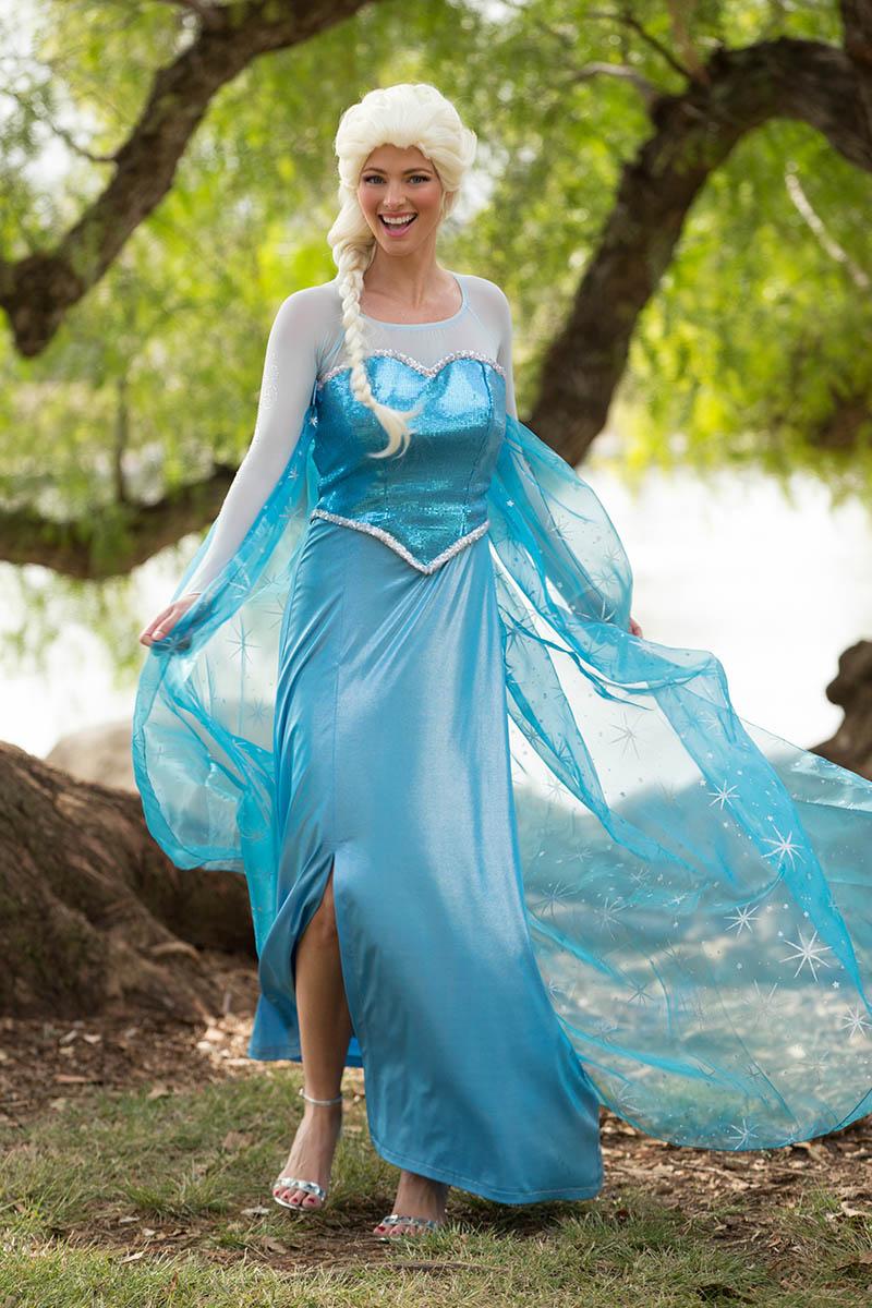 Princess elsa party character for kids in las vegas