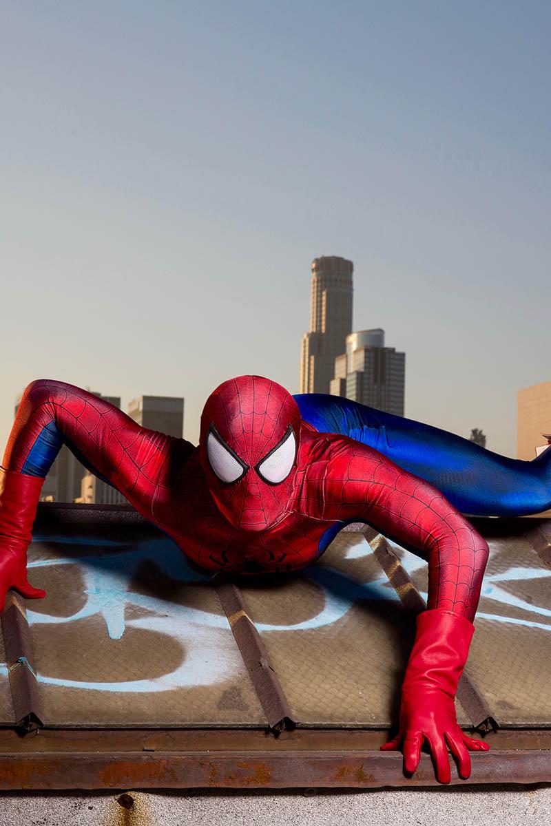 Superhero spiderman party character for kids in las vegas